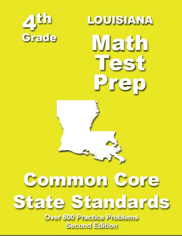 4th Grade Louisiana Common Core Math - TeachersTreasures.com