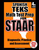 4th Grade STAAR Math Test Prep Spanish Version - TeachersTreasures.com