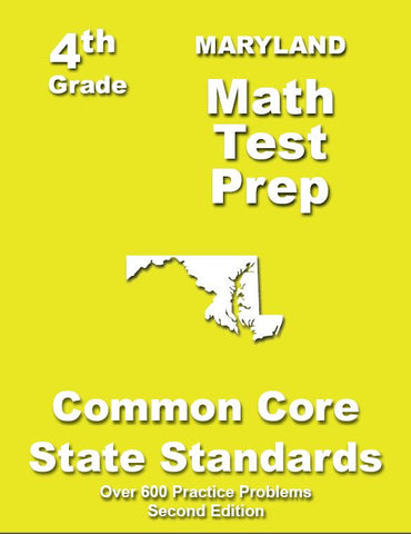 4th Grade Maryland Common Core Math - TeachersTreasures.com