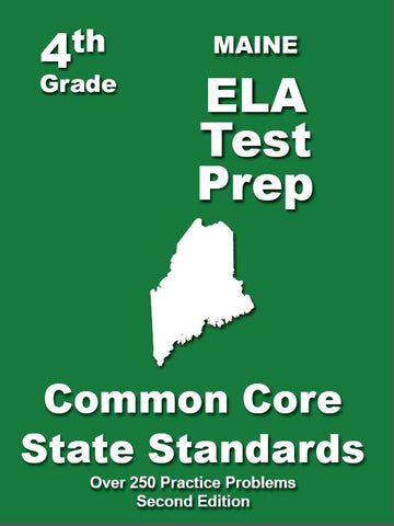 4th Grade Maine Common Core ELA - TeachersTreasures.com