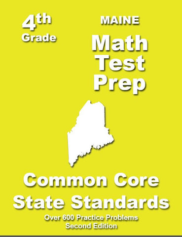 4th Grade Maine Common Core Math - TeachersTreasures.com