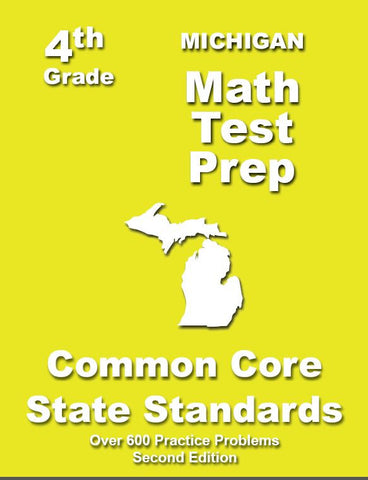 4th Grade Michigan Common Core Math - TeachersTreasures.com