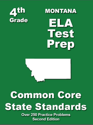 4th Grade Montana Common Core ELA - TeachersTreasures.com