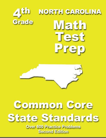 4th Grade North Carolina Common Core Math - TeachersTreasures.com