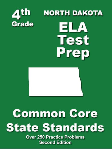 4th Grade North Dakota Common Core ELA - TeachersTreasures.com