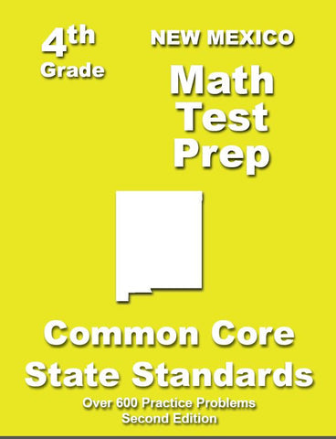 4th Grade New Mexico Common Core Math - TeachersTreasures.com