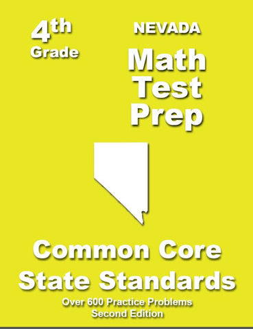 4th Grade Nevada Common Core Math - TeachersTreasures.com