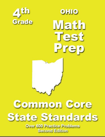 4th Grade Ohio Common Core Math - TeachersTreasures.com