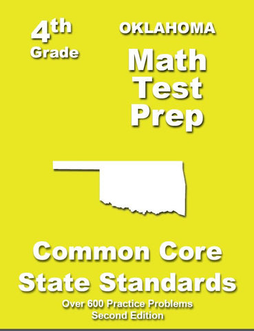 4th Grade Oklahoma Common Core Math - TeachersTreasures.com