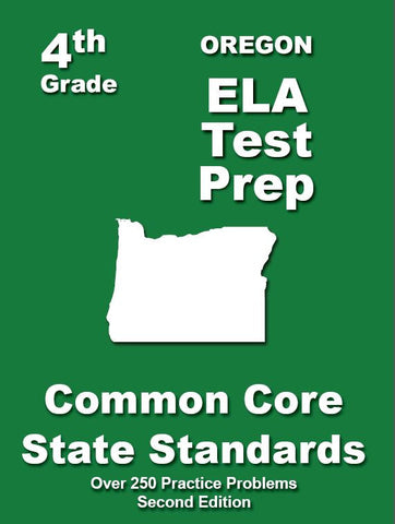 4th Grade Oregon Common Core ELA - TeachersTreasures.com