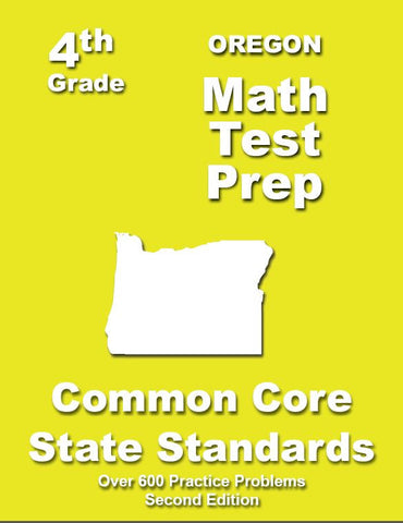 4th Grade Oregon Common Core Math - TeachersTreasures.com