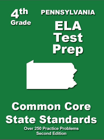 4th Grade Pennsylvania Common Core ELA - TeachersTreasures.com