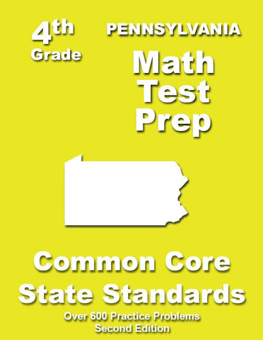 4th Grade Pennsylvania Common Core Math - TeachersTreasures.com