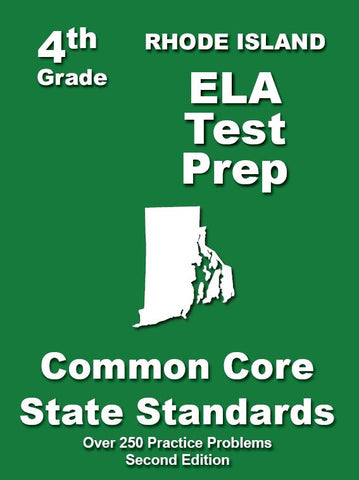 4th Grade Rhode Island Common Core ELA - TeachersTreasures.com