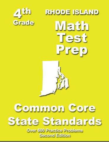 4th Grade Rhode Island Common Core Math - TeachersTreasures.com