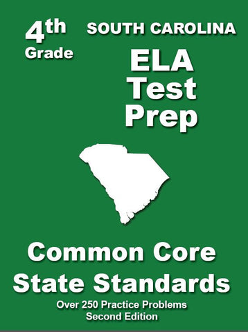 4th Grade South Carolina Common Core ELA - TeachersTreasures.com