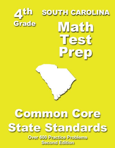 4th Grade South Carolina Common Core Math - TeachersTreasures.com