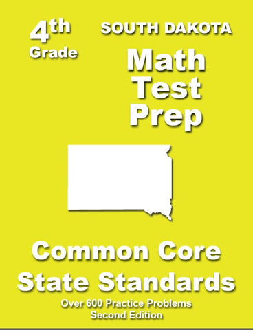 4th Grade South Dakota Common Core Math - TeachersTreasures.com