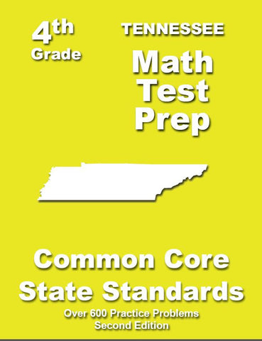 4th Grade Tennessee Common Core Math - TeachersTreasures.com
