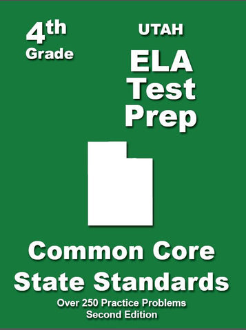 4th Grade Utah Common Core ELA - TeachersTreasures.com
