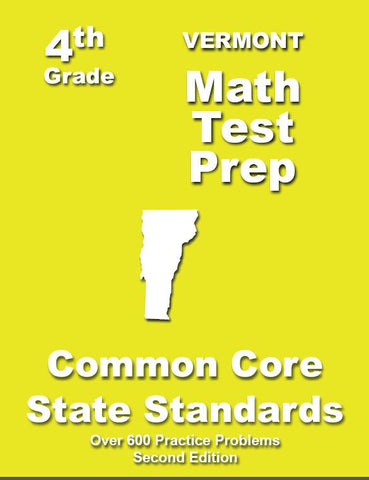 4th Grade Vermont Common Core Math - TeachersTreasures.com