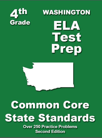 4th Grade Washington Common Core ELA - TeachersTreasures.com