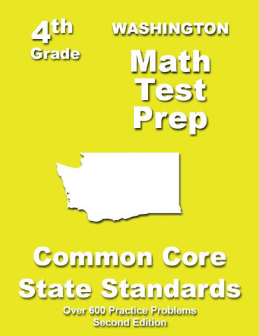 4th Grade Washington Common Core Math - TeachersTreasures.com