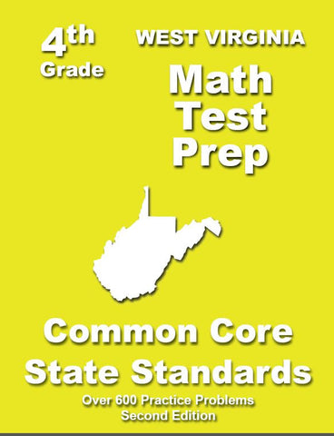 4th Grade West Virginia Common Core Math - TeachersTreasures.com
