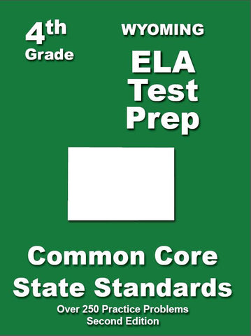 4th Grade Wyoming Common Core ELA - TeachersTreasures.com