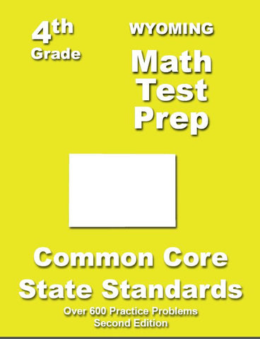 4th Grade Wyoming Common Core Math - TeachersTreasures.com