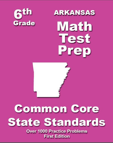 6th Grade Arkansas Common Core Math - TeachersTreasures.com
