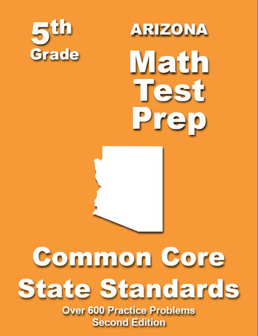 5th Grade Arizona Common Core Math - TeachersTreasures.com