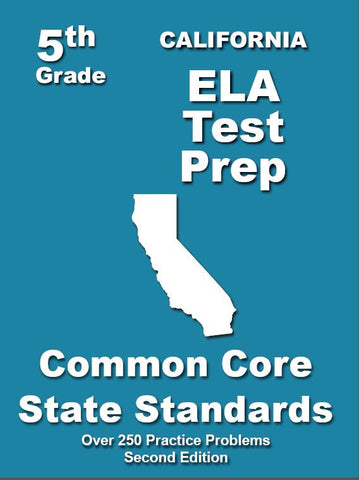 5th Grade California Common Core ELA - TeachersTreasures.com
