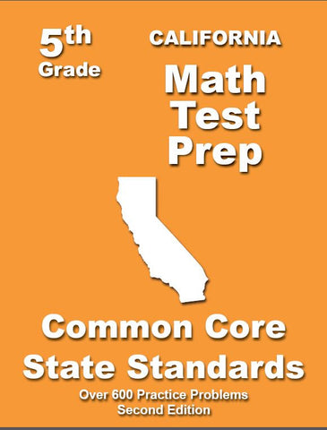 5th Grade California Common Core Math - TeachersTreasures.com