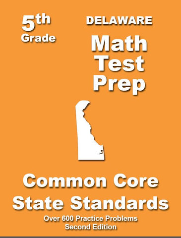 5th Grade Delaware Common Core Math - TeachersTreasures.com