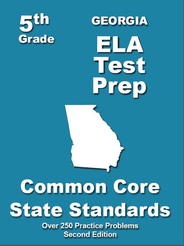 5th Grade Georgia Common Core ELA - TeachersTreasures.com