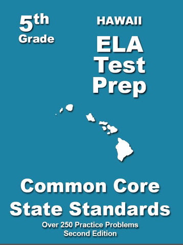 5th Grade Hawaii Common Core ELA - TeachersTreasures.com