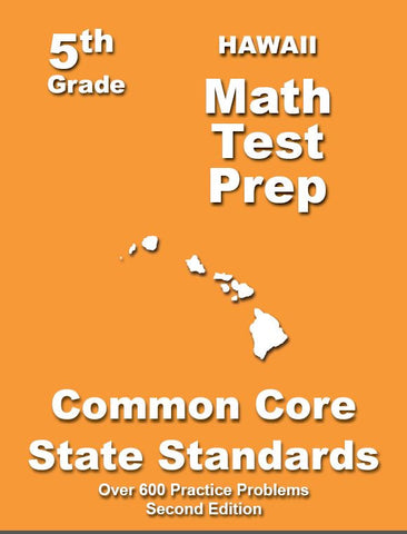 5th Grade Hawaii Common Core Math - TeachersTreasures.com