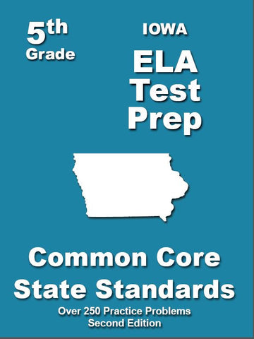 5th Grade Iowa Common Core ELA - TeachersTreasures.com