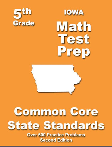 5th Grade Iowa Common Core Math - TeachersTreasures.com