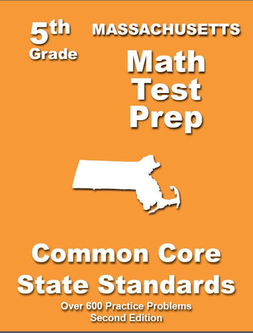 5th Grade Massachusetts Common Core Math - TeachersTreasures.com