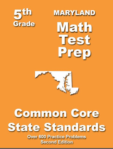 5th Grade Maryland Common Core Math - TeachersTreasures.com