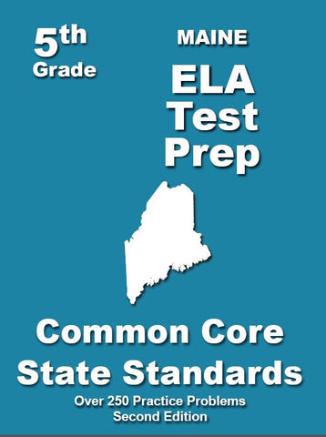 5th Grade Maine Common Core ELA - TeachersTreasures.com