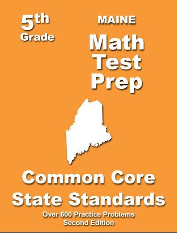 5th Grade Maine Common Core Math - TeachersTreasures.com