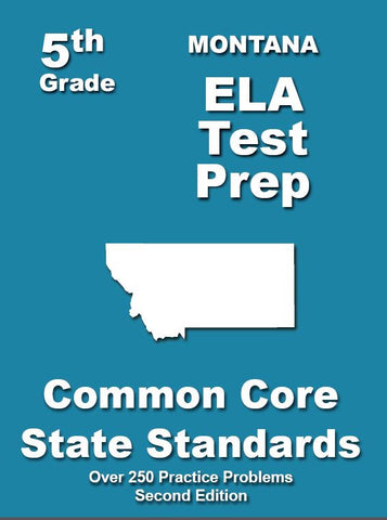 5th Grade Montana Common Core ELA - TeachersTreasures.com
