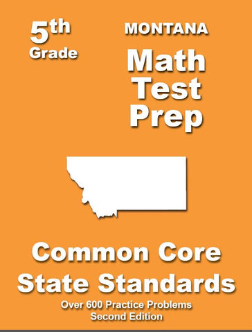 5th Grade Montana Common Core Math - TeachersTreasures.com