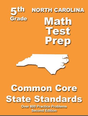 5th Grade North Carolina Common Core Math - TeachersTreasures.com