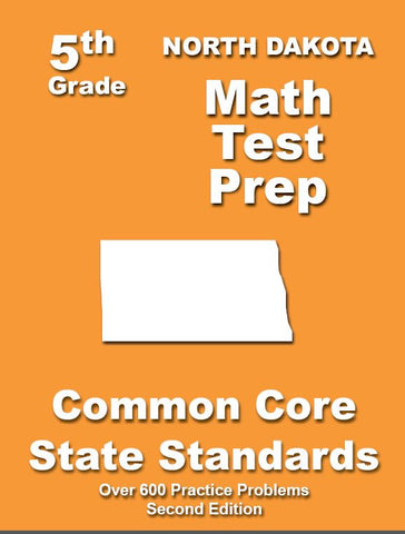 5th Grade North Dakota Common Core Math - TeachersTreasures.com