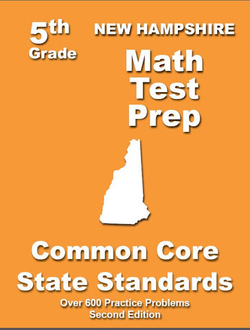 5th Grade New Hampshire Common Core Math - TeachersTreasures.com