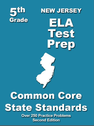 5th Grade New Jersey Common Core ELA - TeachersTreasures.com